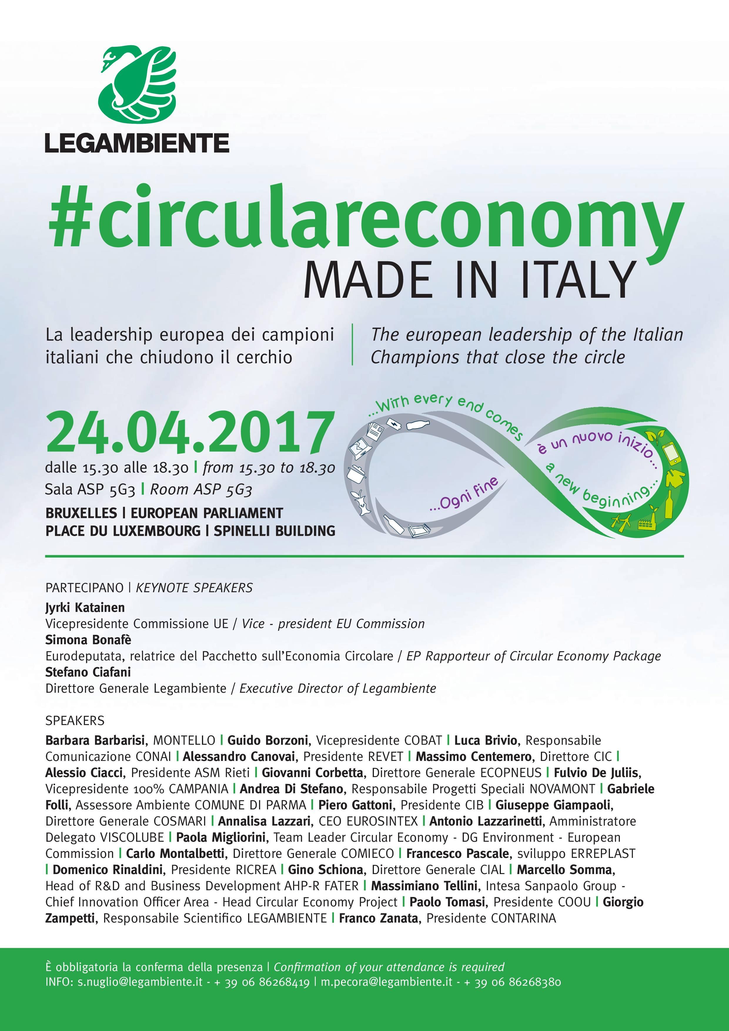 Economia circolare made in italy