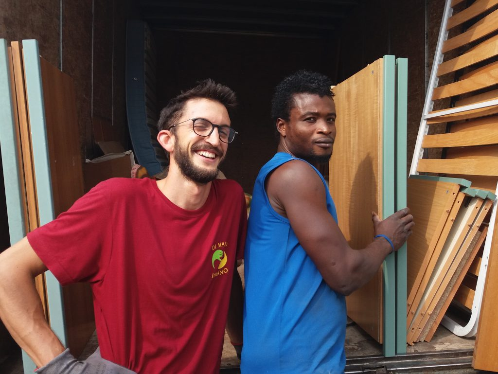 Valerio e Ousmane