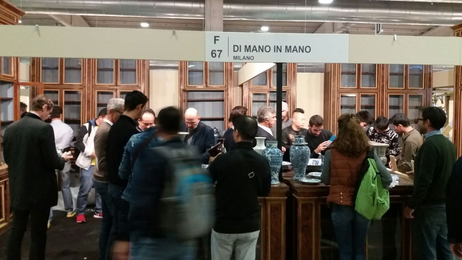Stand Di Mano in Mano a Mercanteinfiera Autunno