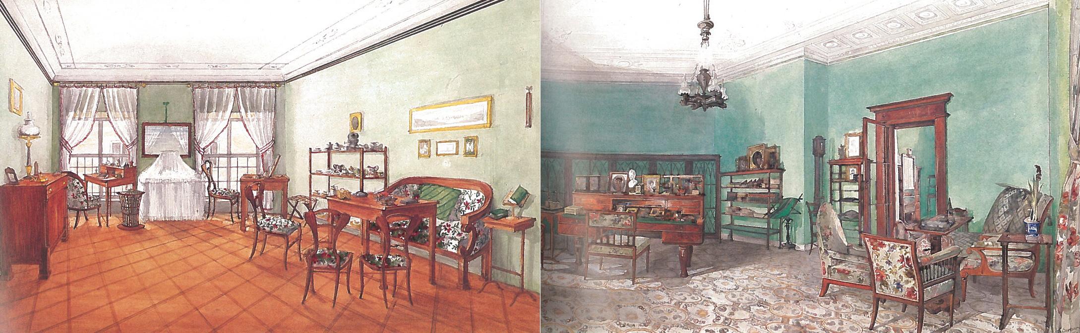 Dipinti salotti Biedermeier - Historisches Museum der Stadt Wien