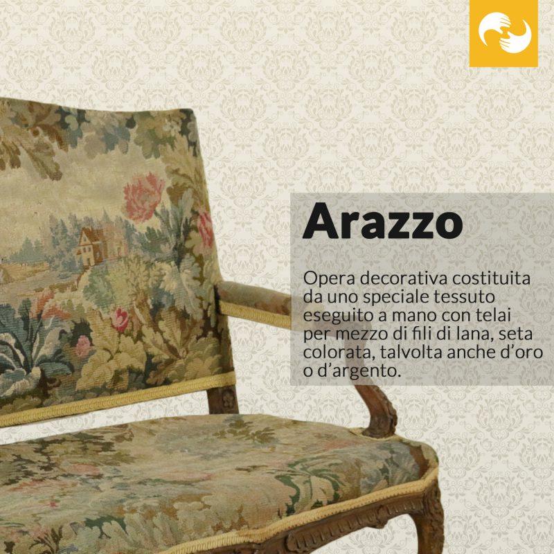 Arazzo Glossario Antiquario