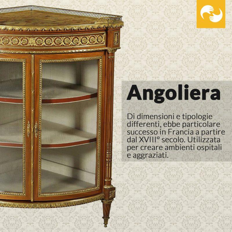 Angoliera Glossario Antiquario