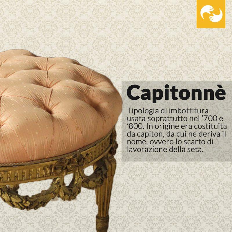 Capitonnè Glossario Antiquario