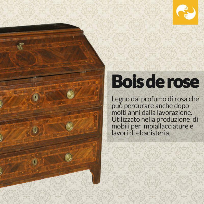 Bois de rose Glossario Antiquario