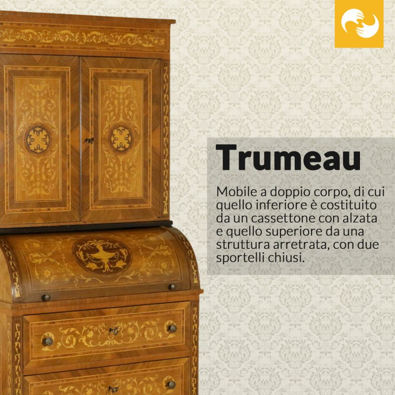 Trumeau Glossario Antiquario