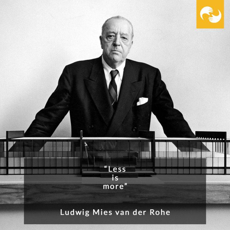 Ludwig Mies van der Rohe Designer