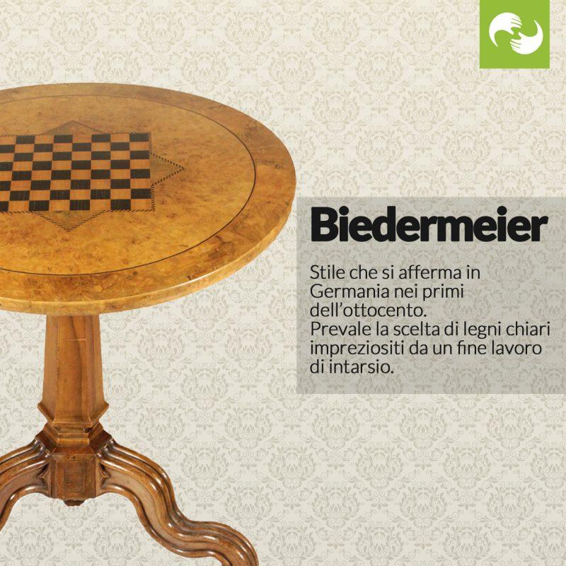 Biedermeier Glossario Antiquario