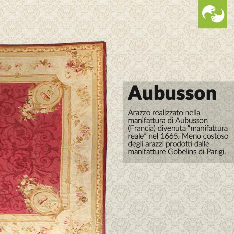 Aubusson Glossario Antiquario