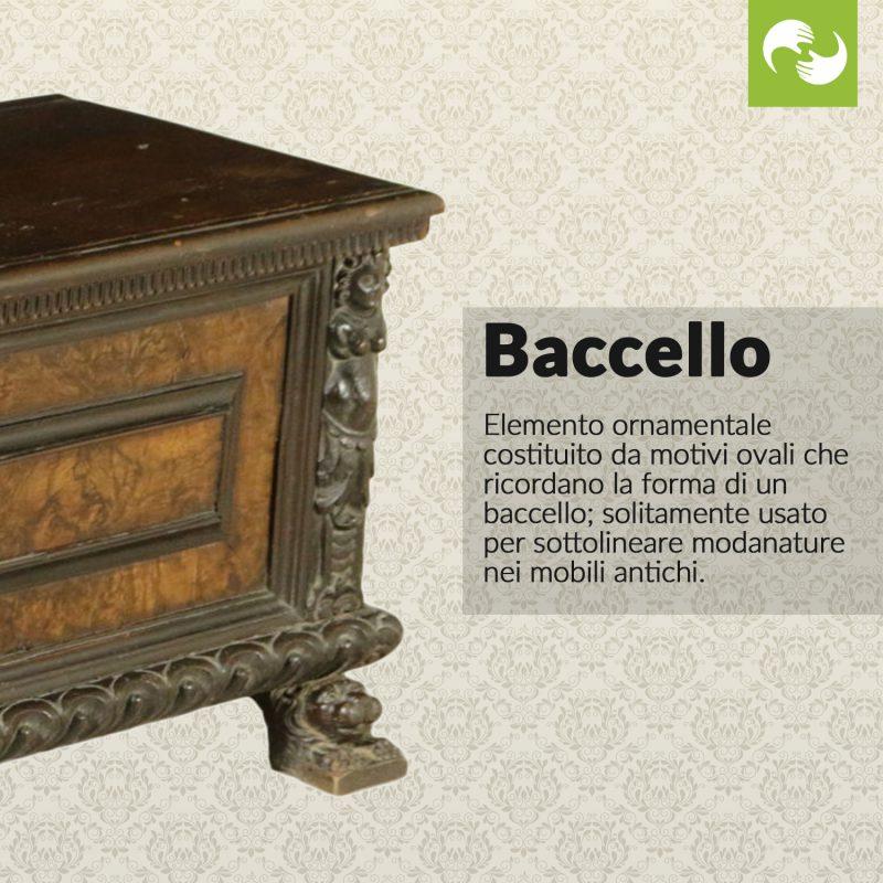 Baccello Glossario Antiquario