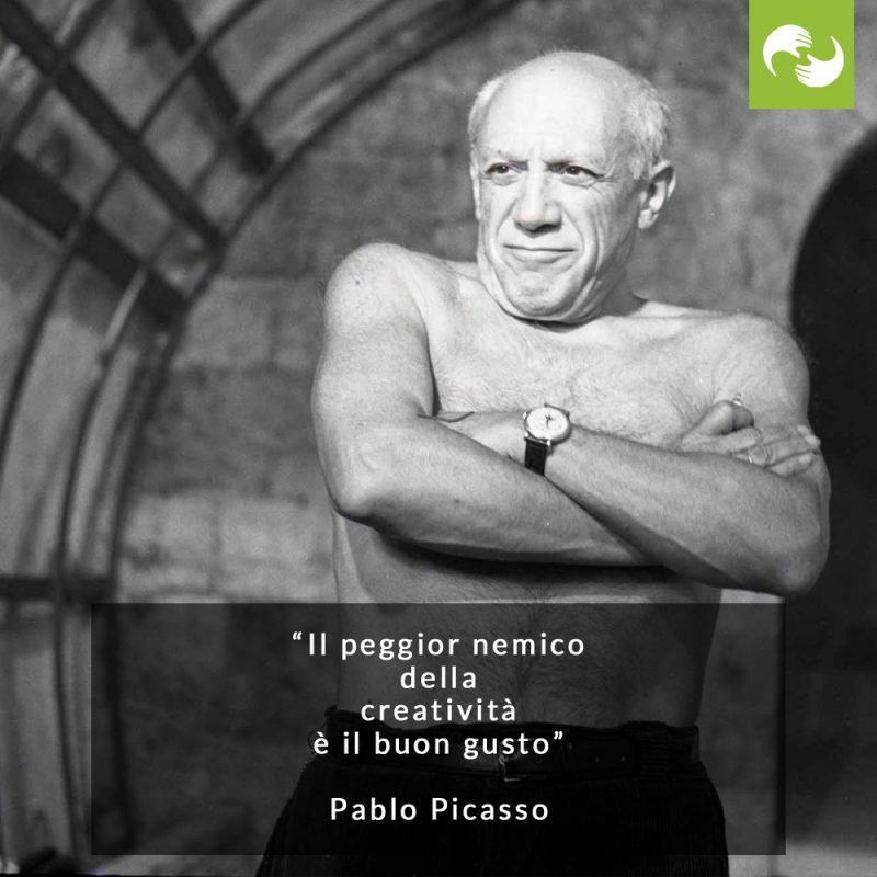 Pablo Picasso citazione