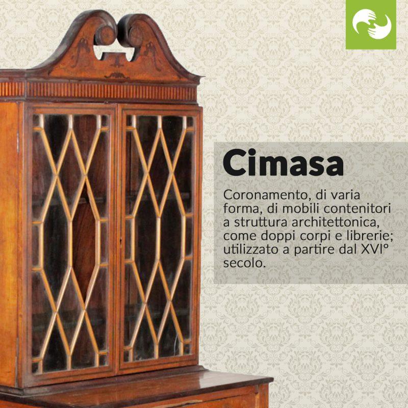 Cimasa Glossario Antiquario