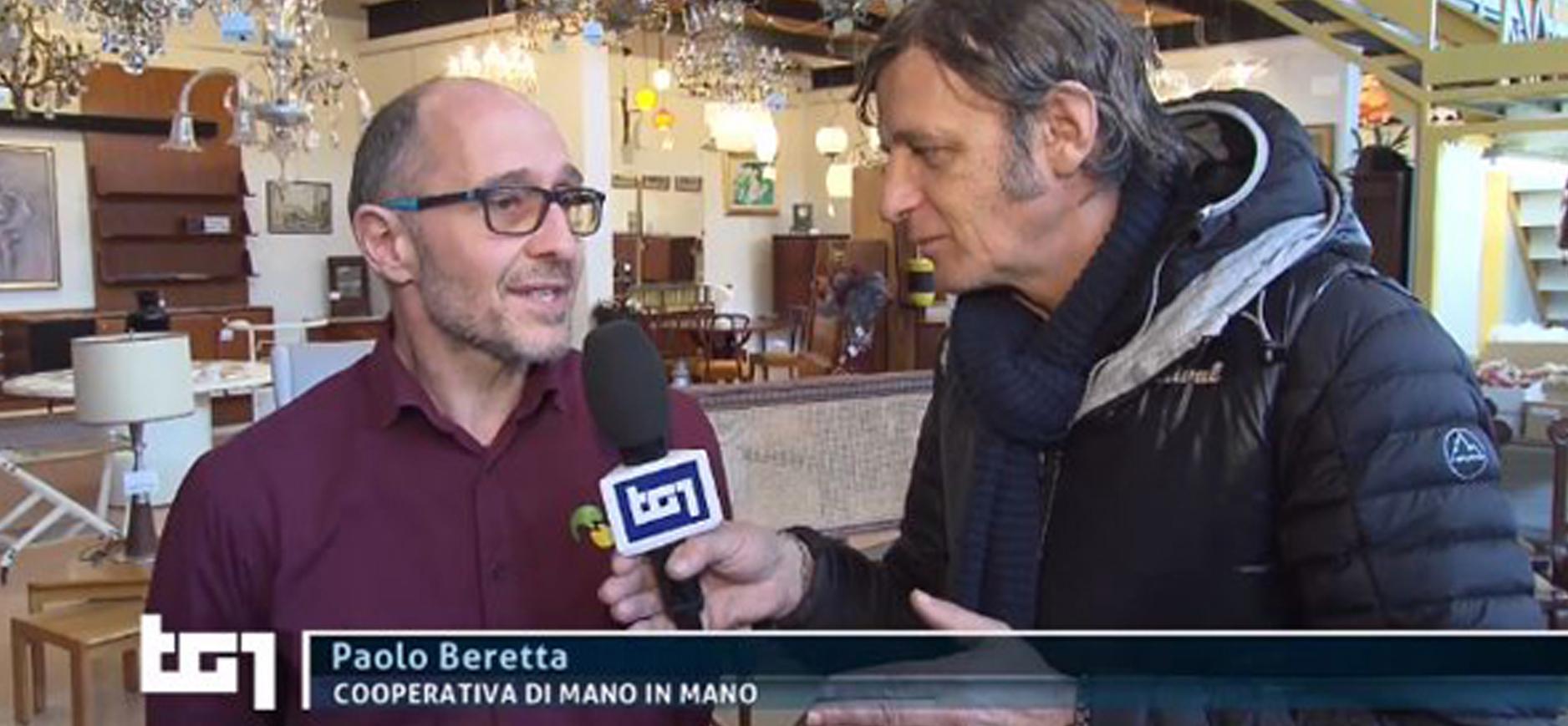 Paolo Beretta al TG1