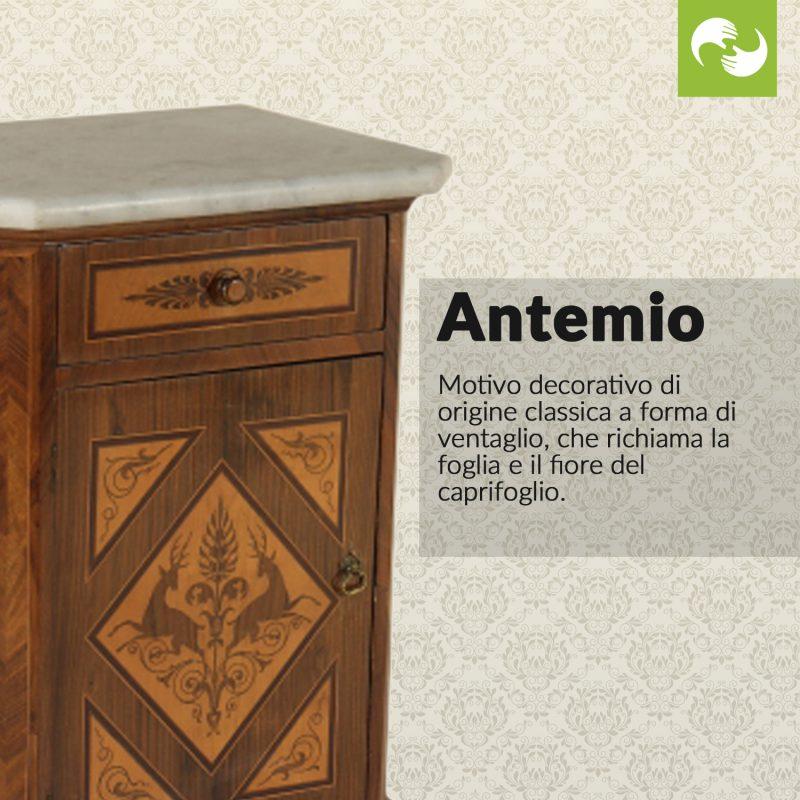 Antemio Glossario Antiquario