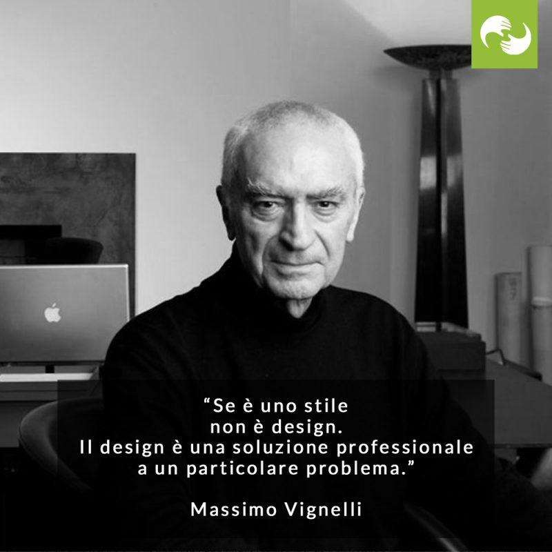 Citazione Massimo Vignelli