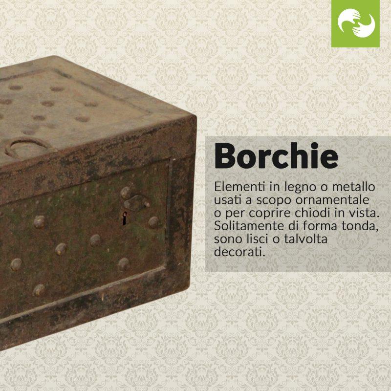 Borchie Glossario Antiquario