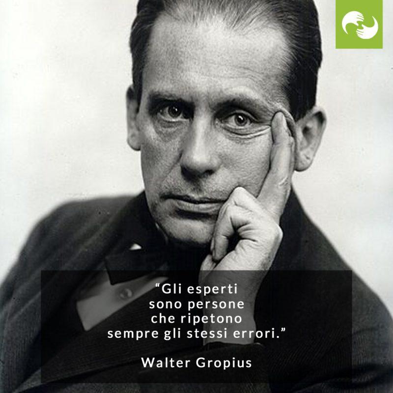 Citazione Walter Gropius