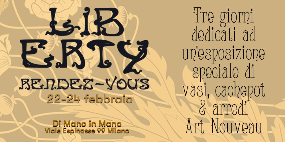 Evento Liberty Rendez-Vous ( Art Nouveau)