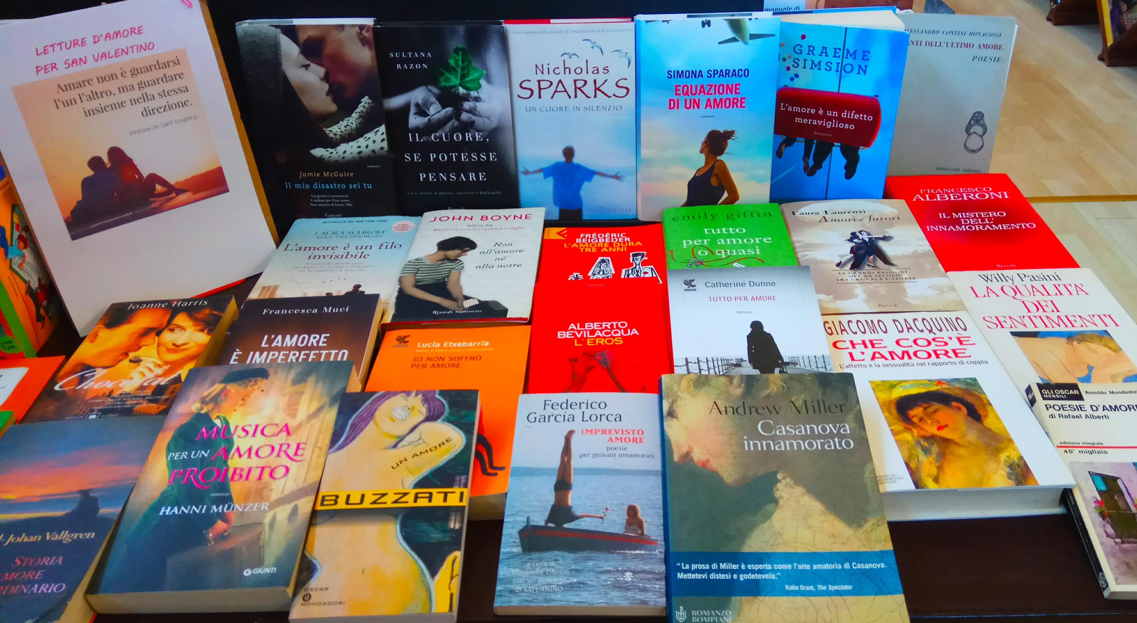 Libri San Valentino
