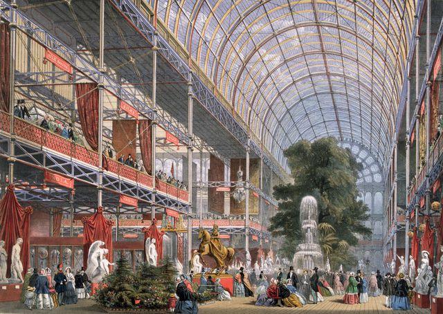 Crystal Palace Exhibition 1851 Modernariato