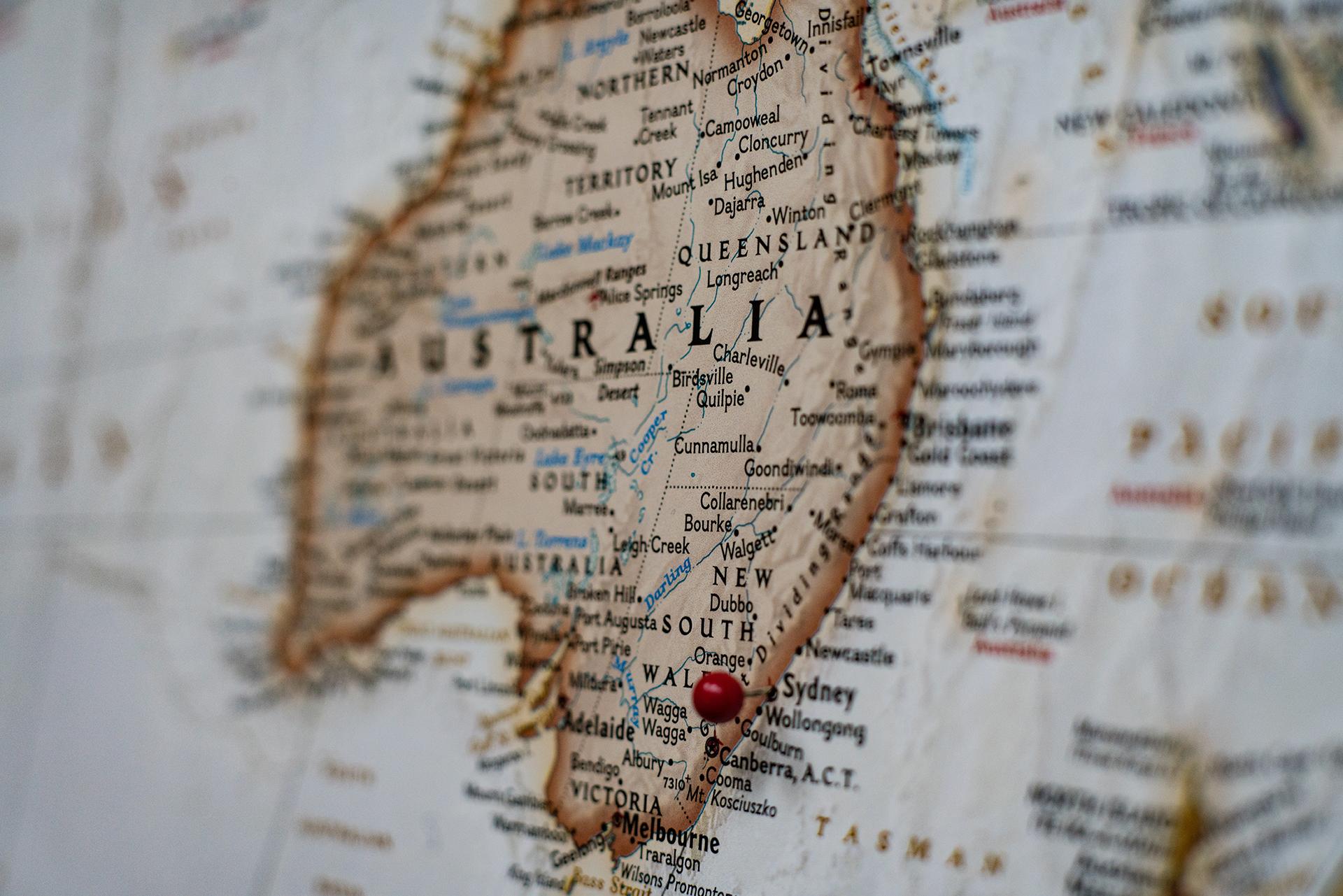 il mondo nei libri : Australia