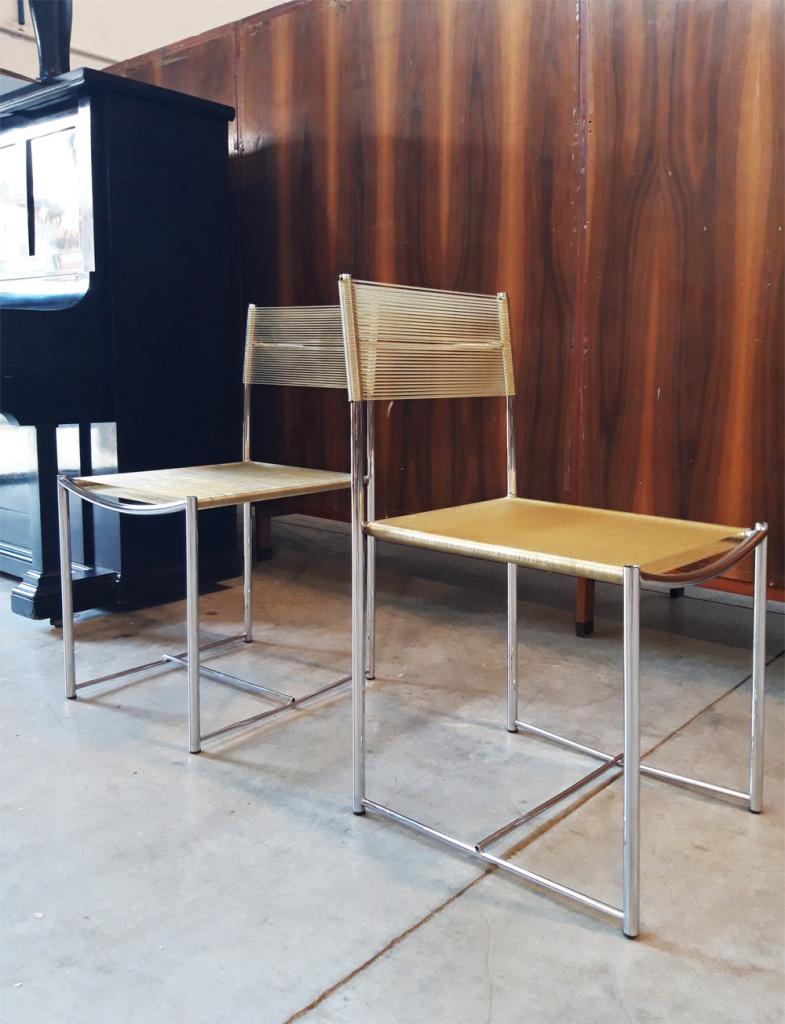 Spaghetti Chair nei nostri magazzini di Cambiago