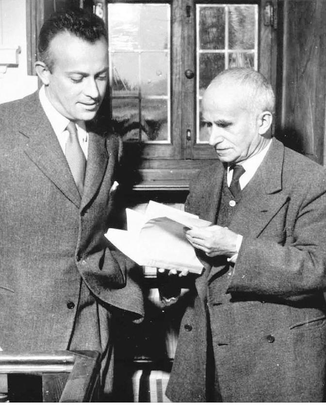 Luigi e Giulio Einaudi