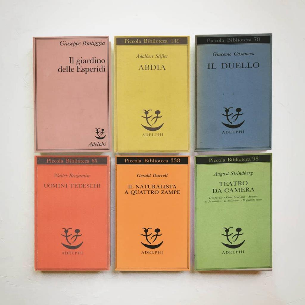"Collana ""Piccola Biblioteca Adelphi"""