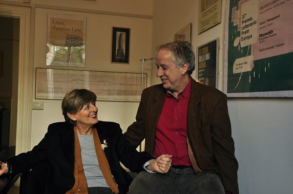 Sandro Ferri e Sandra Ozzola fondatori di Edizioni e/o