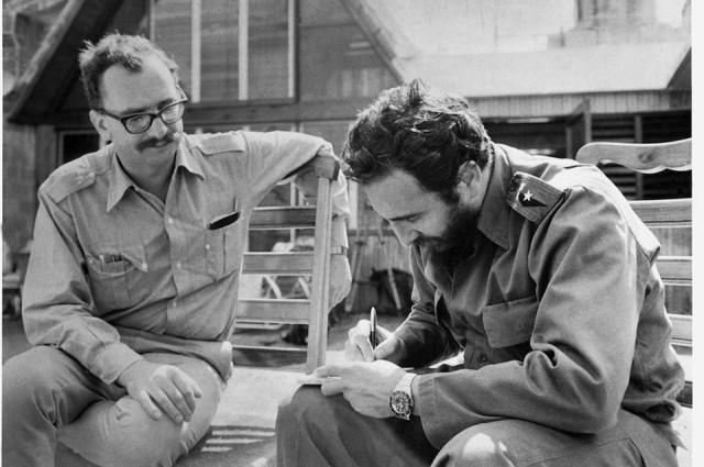 Giangiacomo Feltrinelli e Fidel Castro a L'Avana 1964