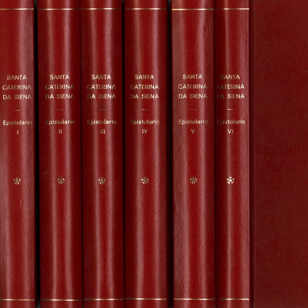 Le lettere di Santa Caterina da Siena 6 volumi