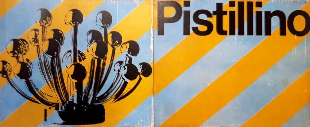 Confezione Originale lampada Pistillo, 1969