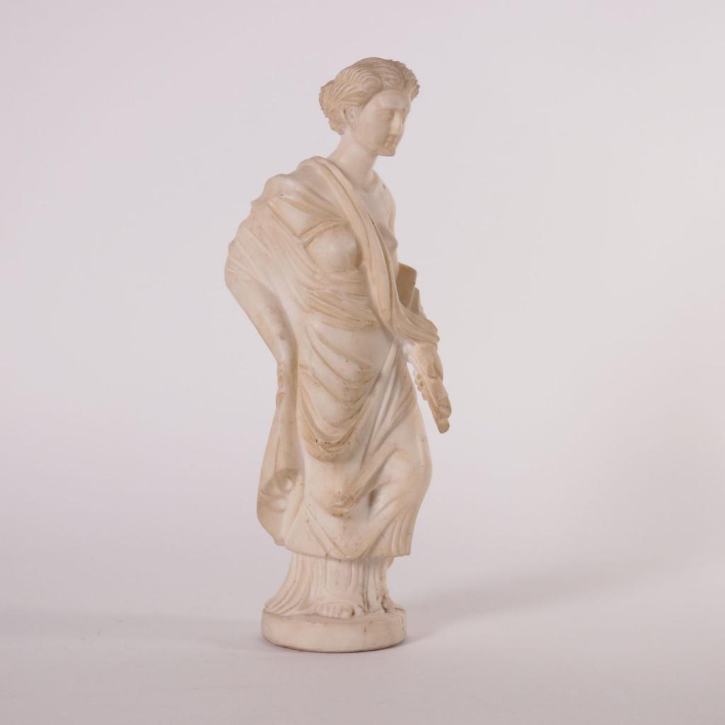 Scultura in marmo di gusto tardo neoclassico