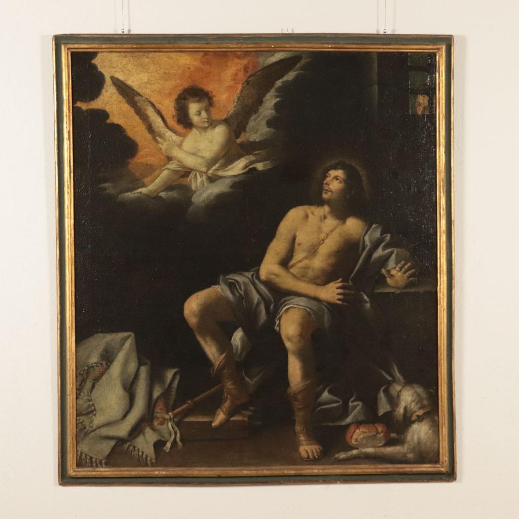 Lorenzo Lippi, San Rocco. Classic Monday