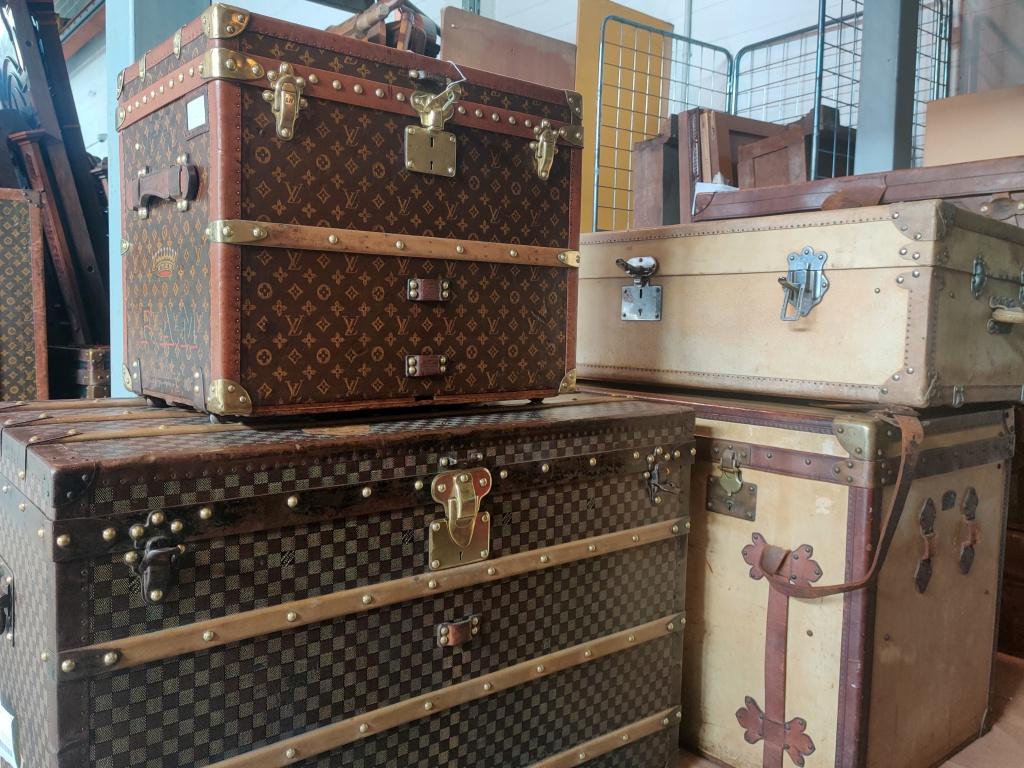 Bauli da viaggio Louis Vuitton