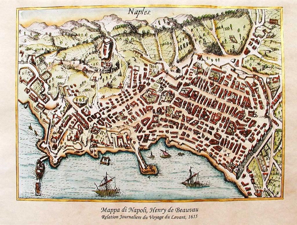 Antica Mappa di Napoli
