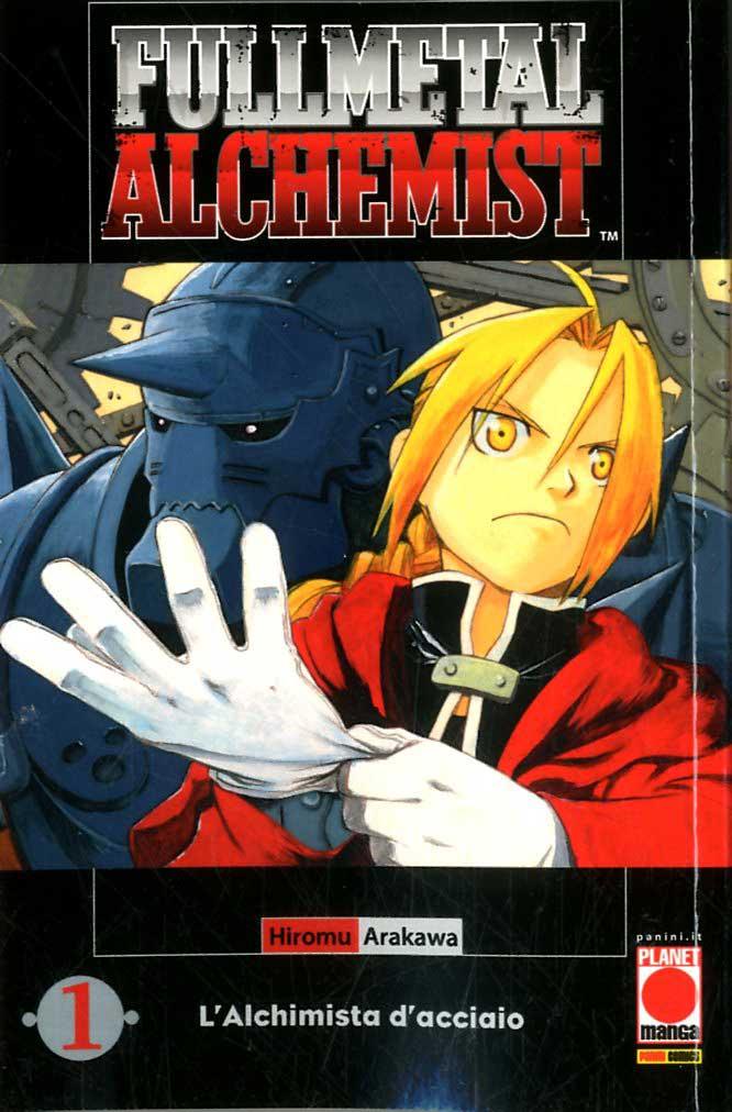 Fullmetal Alchemist copertina manga