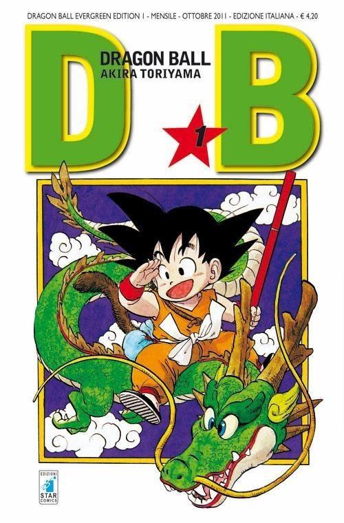 dragon ball copertina manga