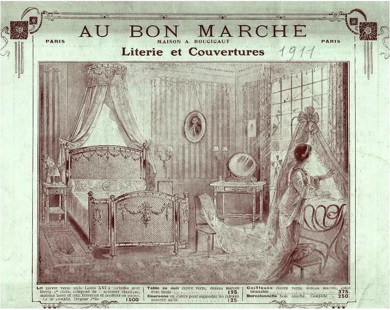 Culla in un Catalogo di Parigi del 1911